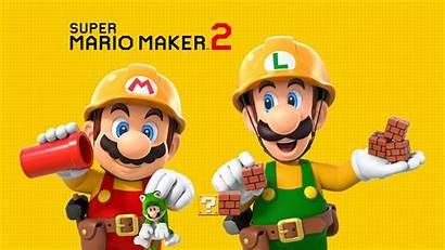 Mario Maker Super Background Bros Wallpapers Smm2