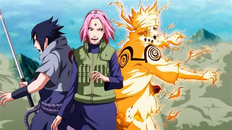 Download 1920x1080 Naruto Shippuuden, Team 7, Sakura