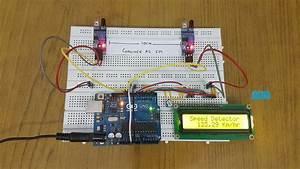 Arduino Car Speed Detector