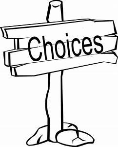Choices Signpost Clip Art at Clker.com - vector clip art ...