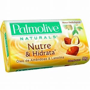 Sabonete Palmolive Naturals Óleo de Amêndoas & Lanolina ...
