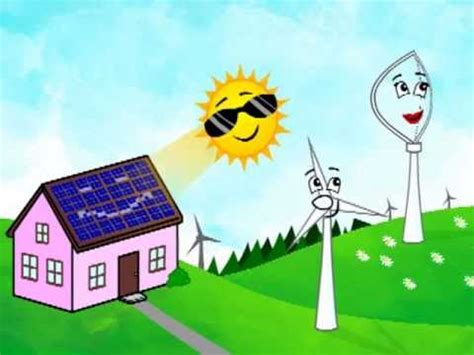 cartoon   renewable green energy