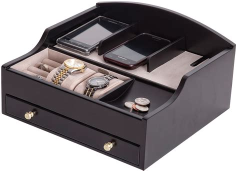 mens dresser valet with charger jewelryboxplus ricardo charging valet mens valet
