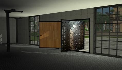 sims  designs textured pivoting doors sims  downloads