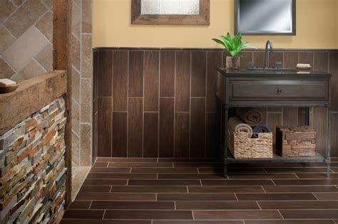 flooring and decor exotica walnut wood porcelain tile contemporary