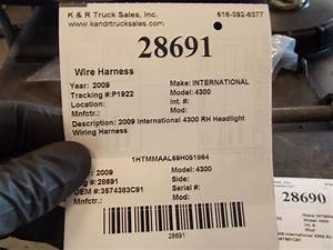 2009 International 4300  Stock  28691