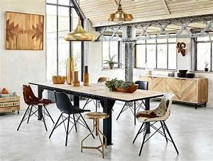 Table A Manger Industrielle : quelle table style industriel avec rallonges choisir ~ Teatrodelosmanantiales.com Idées de Décoration