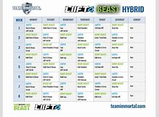 LIIFT4 Body Beast Hybrid Team Immortal Forever Fit