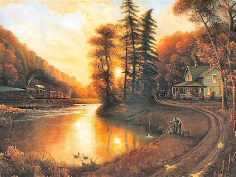 A Peaceful Evening By Jesse Barnes