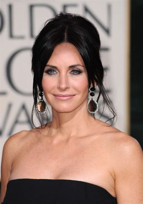 courteney  french twist updo hairstyle hairstyles weekly