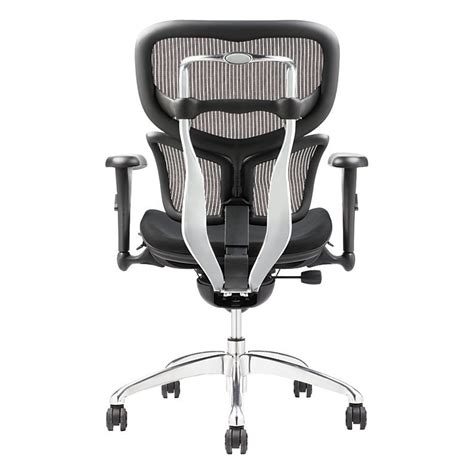 Workpro Commercial Mesh Back Executive Chair Black by Workpro Commercial Mesh Back Executive Chair Black