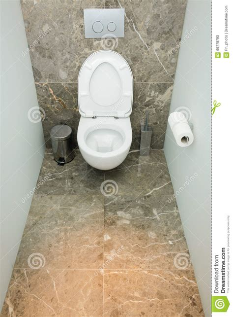 modern wc design wc interior stock photo image 66778790