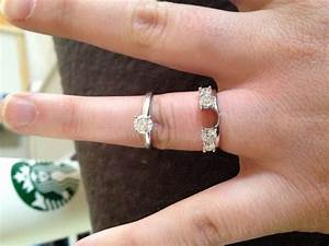 15 Inspirations Of Wrap Around Engagement Rings Wedding Band