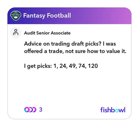 Advice on trading draft picks? I was offered a trade, not ...