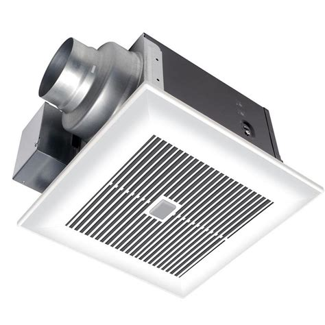 humidity sensing bathroom fan reviews panasonic whispersense 110 cfm ceiling humidity and motion