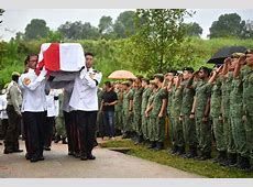 SAF warrant officer who died in Brunei given final send