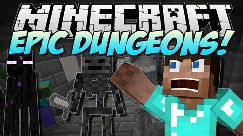 minecraft epic dungeons rpg style dungeon systems