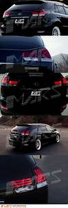 Clear Red Led Bar Tail Lights Sequential Indicators For