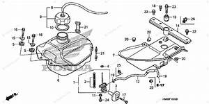 Honda Atv 2008 Oem Parts Diagram For Fuel Tank
