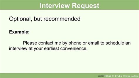 how to end a cover letter how to end a cover letter 15 steps with pictures wikihow 28851