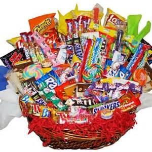Candy Assortment Gift Baskets