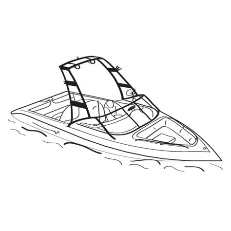 How To Draw A Ski Boat by Ski Boat Coloring Pages Coloring Page