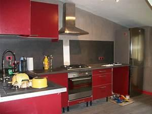 Deco Cuisine Ikea : excellent cuisine rouge chez ikea with ikea modele cuisine ~ Teatrodelosmanantiales.com Idées de Décoration