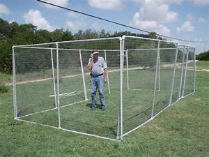 diy outdoor cat enclosure pvc pictures to pin on pinterest With premade dog kennels