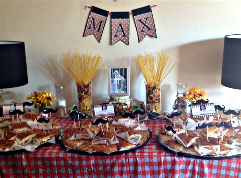 Max's Italian Themed Birthday Party