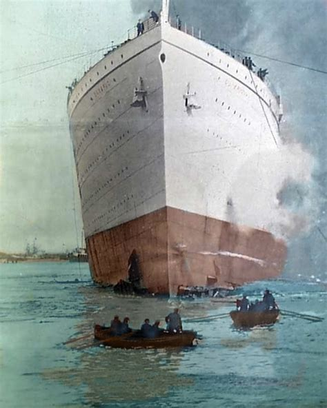 Rms Olympic Sinking U Boat by Rms Olympic Liners Olympics Titanic