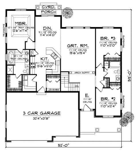 house plan  bungalow style   sq ft  bed  bath