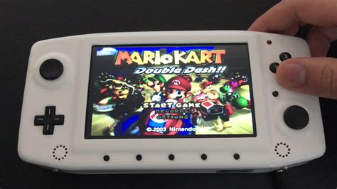 Custom Built Portable Nintendo Gamecube With N64 And Snes