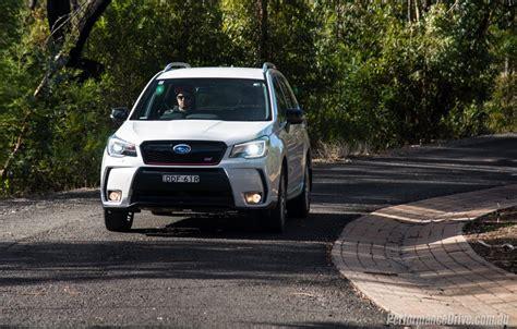 Subaru Forester Sti 2016 Subaru Forester Ts Sti Review Video Performancedrive