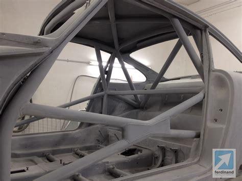 silver porsche gt3 porsche 911 roll cage as art ferdinand