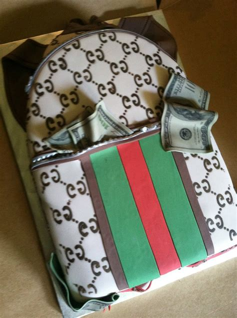 gucci backpack cake jessica mitchell flickr