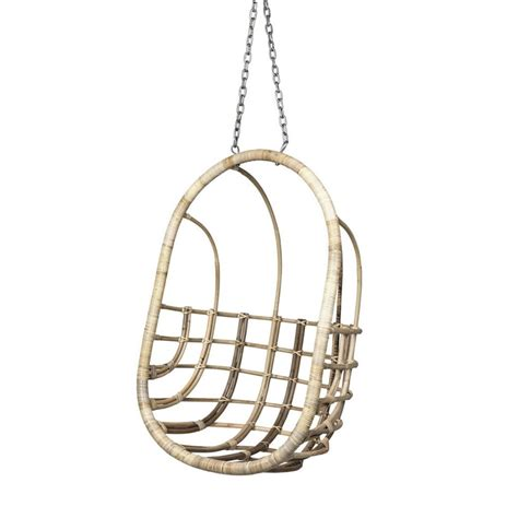 broste hangstoel egg chair rotan