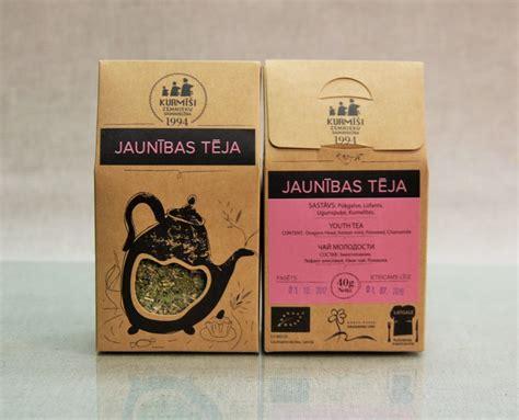 Zāļu tēja Jaunības, bioloģiska - Bioloģiskās zāļu tējas ...