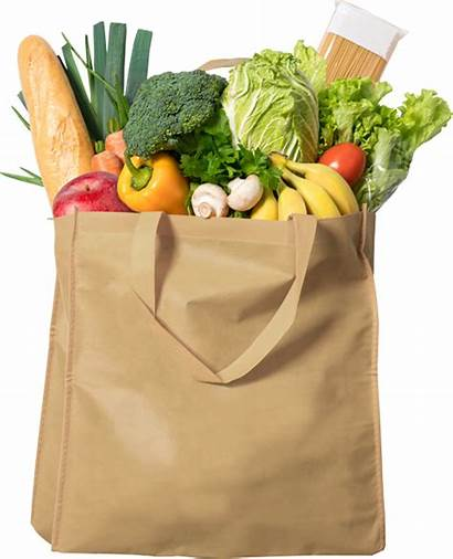 Grocery Shopping Supermarket Arrival Pre Bag Groceries