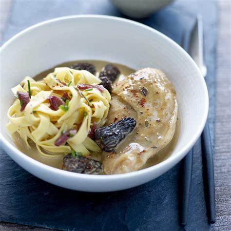 recette de cuisine gastronomique facile recette suprême de volaille fermière aux morilles
