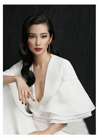 Makeup Bangs Asian Li Bingbing Kreative Portraits