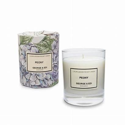 Candle Peony Soy Candles Perfumed Perfume