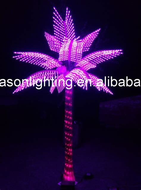 led lighted palm trees for outside buy palm tree lighted