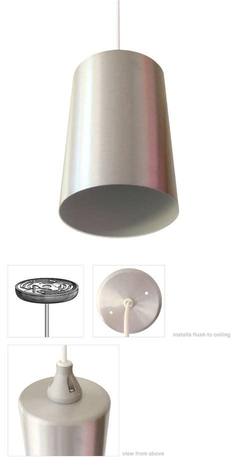 mid century modern pendant light modern cylinder l