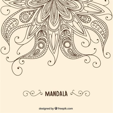 henna background vector free