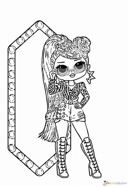 Omg Lol Coloring Pages Dolls Ausmalbilder Drawing