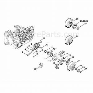 stihl ms 440 chainsaw ms440 wvh parts diagram oil pump With stihl fuel pump