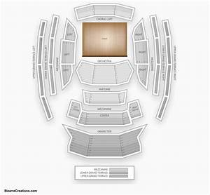Miller Performing Arts Center Seating Chart Kauffman Center Seating Chart Seating Charts Tickets
