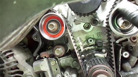 Hyundai Santa Fe Timing Belt Replacement by 2003 Hyundai Santa Fe 2 7l V6 Timing Belt Tip