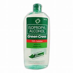 Green Cross 70% Alcohol with Moisturizer 500ml   Pingcon ...
