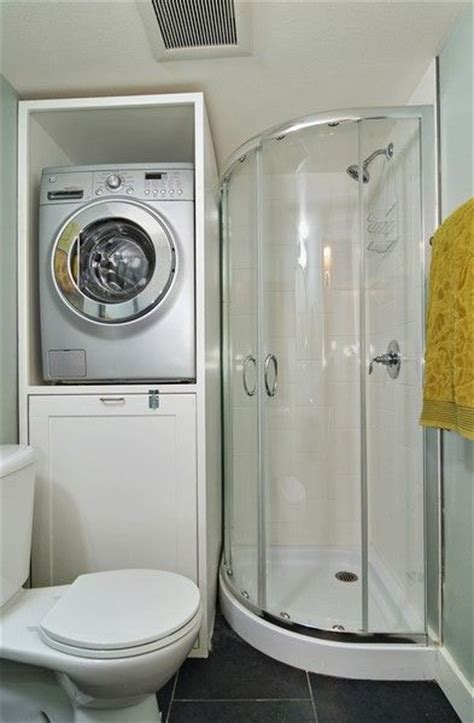 Bathroom Design With Washer And Dryer by Small Bathroom Design Storage The Washer Or Dryer